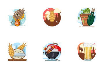Free Skycons Mix (April) Icon Pack