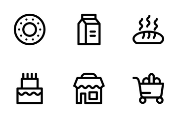 Free Supermarket Icon Pack