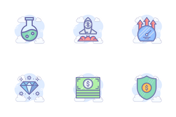 Fresh Business Icon Pack