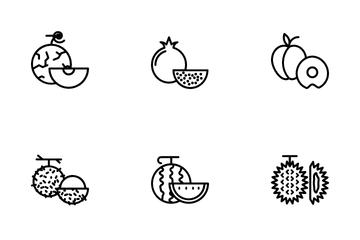 Fresh Fruit Icon Icon Pack