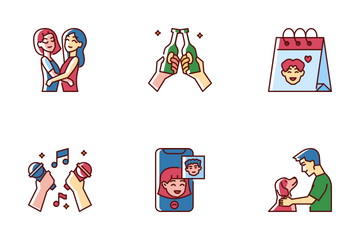 Friendship Day Icon Pack