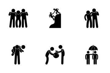 Friendship Goals Icon Pack