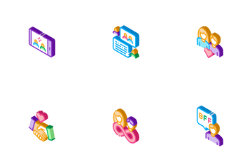 Friendship Relation Icon Pack
