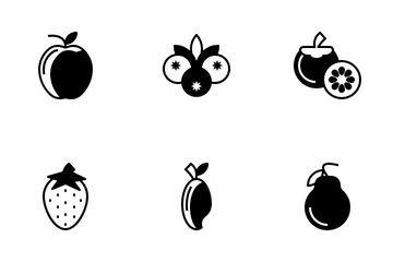 Fruit And Vegetables Icon Pack