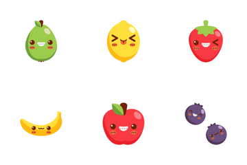 Fruit Face Icon Pack