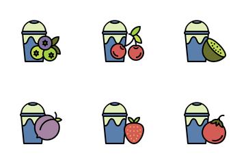 Fruit Juice Icon Pack