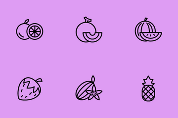Fruits Icon Pack