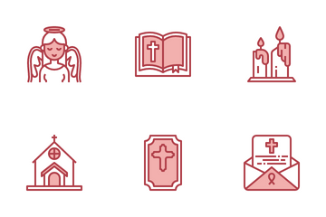 Funeral Icon Pack