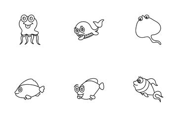 Funny Fishes Icon Pack