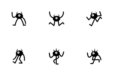 Funny Monster Icon Pack