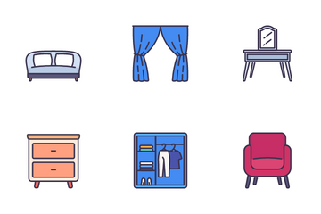 Furniture And Home Decor Icon Pack