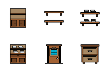 Furniture And Household Icon Pack