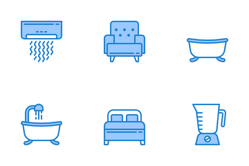 Furniture And Household 2 Icon Pack