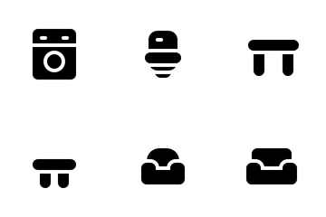 Furniture & Appliance Icon Pack