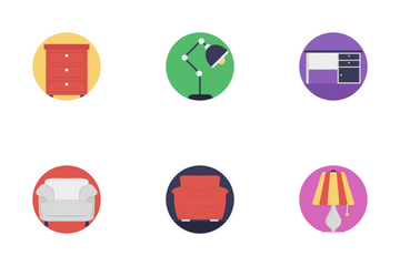 Furniture Flat Icons 1 Icon Pack