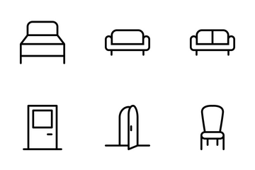 Furniture Icons Icon Pack