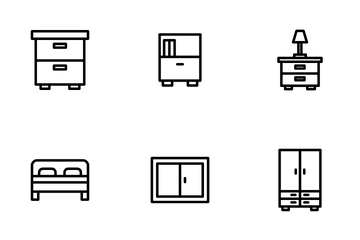 Furniture - Outline Icon Pack