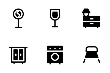 Furniture (Solid) Icon Pack