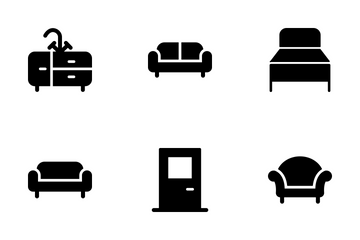 Furniture Vector Icons Icon Pack