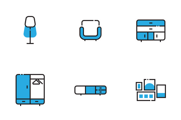Furnitures Icon Pack
