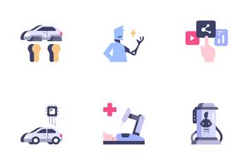 Future Of Technology Icon Pack