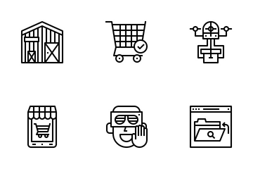 Future Shopping Icon Pack