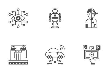 Future Technology Icon Pack