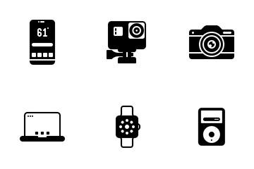 Gadget Flat Icon Icon Pack