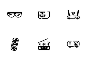 Gadget Solid - Efficiency Tools Icon Pack