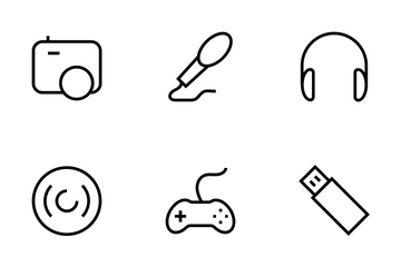 Gadgets Vector Line Icons Icon Pack