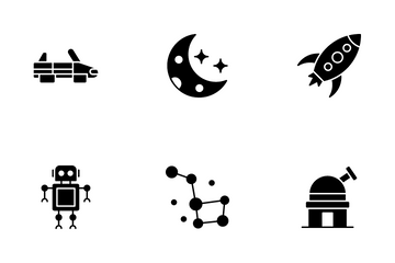 Galaxy And Space Icon Pack