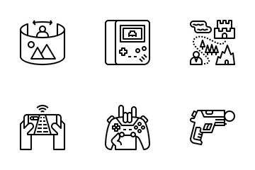 Game And Virtual Reality Icon Pack