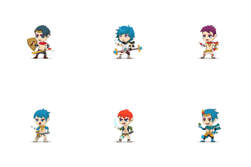Game Character Icon Pack