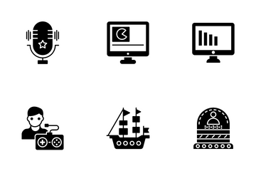 Game Development And Website Application Icon Pack