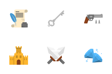 Game Elements Icon Pack