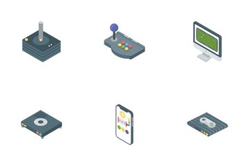 Game Gadgets Icon Pack