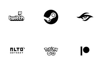 Game Logo Icon Pack