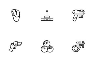Games And Entertainment  Icon Pack
