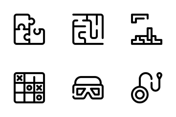 Games And Toys Icon Pack