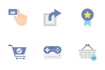 Gaming And E-Commerce Icon Pack