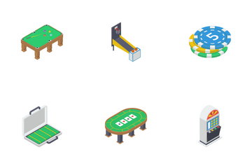 Gaming And Gambling Icon Pack