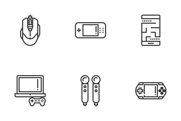 Gaming Elements Icon Pack
