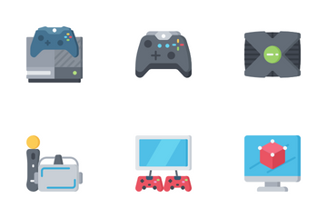 Gaming - Flat Icon Pack