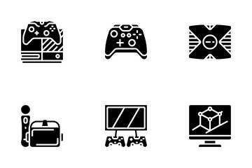Gaming - Glyph Icon Pack