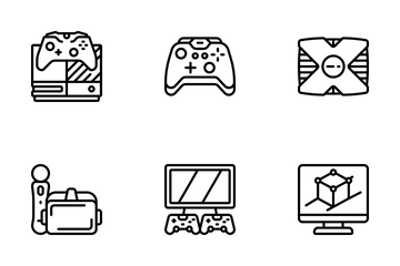 Gaming - Outline Icon Pack