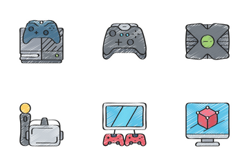 Gaming - Sketchy Icon Pack