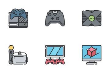 Gaming - Soft Fill Icon Pack