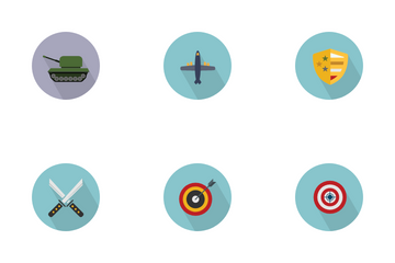 Gaming Weapons Icon Pack