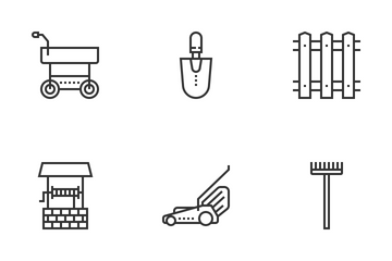 Garden Tools Icon Pack