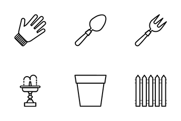 Gardening And Outdoors Icon Pack